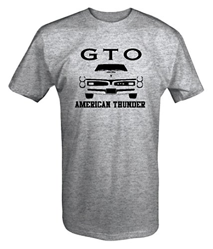 Pontiac Gto Goat American Thundergrill Racingmuscle Car T Shirt   2Xl