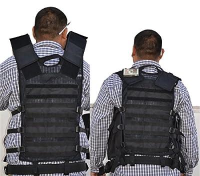 EXPLORER Tactical Vest Tactical Field Vest Outdoor Ultra-Light Breathable Combat Training Vest Adjustable for Adults Police, Security Officer
