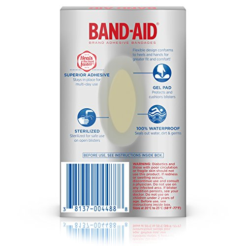 Band-Aid is a brand of adhesive bandages distributed by the American pharmaceutical and medical-devices company Johnson & Johnson. Invented in , the brand has become a generic term for adhesive bandages in the United States.