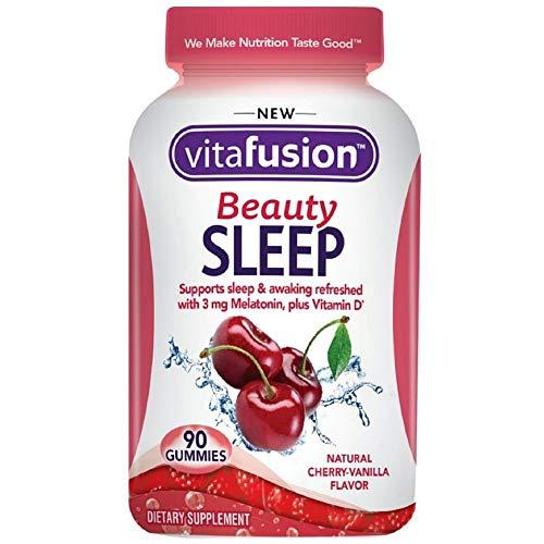 Vitafusion Beauty Sleep Gummies, Cherry-Vanilla 90 ea (Pack of 11)