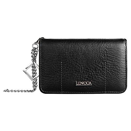 Lencca Kymira Vegan Leather Smartphone Clutch Wallet Purs...