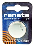 Coin Cell Battery 3V 24.5 x 5.0mm 540mAh (5 pieces)