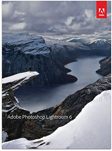 Adobe Photoshop Lightroom 6 - Organize, perfect, and share all your digital photography essentials in one fast, intuitive application
