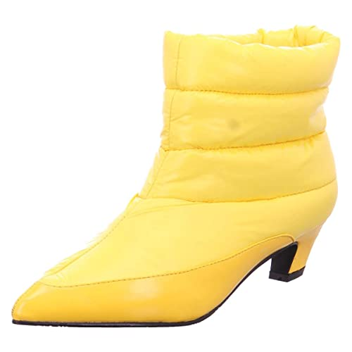 xyxyx Damen  Stiefelette gelb
