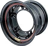 Bassett Ultra Light Wide 5 15x10 in Wide 5 Black Wheel Rim P/N 50SR5-LW