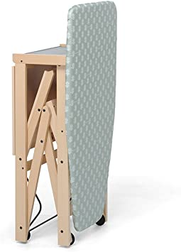 Foppapedretti Asso - Tabla de planchar plegable de madera maciza: Amazon.es: Hogar