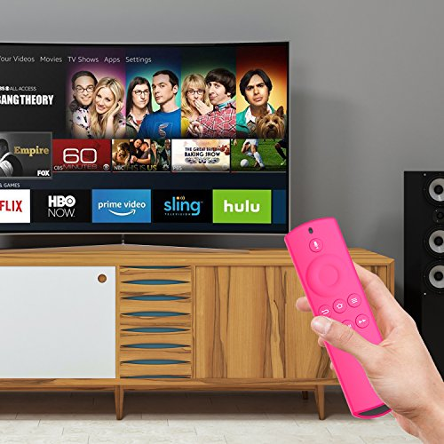 Large Product Image of ACEIken Case for Alexa Voice Remote for Fire TV and Fire TV Stick - Pink