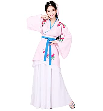 f9483c75d Amazon.com: KUFEIUP Chinese Ancient Traditional Costume Hanfu Dress For  Women: Clothing