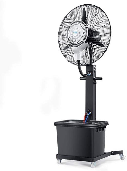 RKY ventilador de pie Ventilador oscilante nebulizador ...
