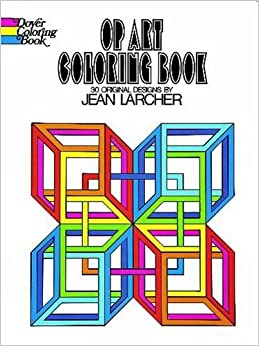 Op Art Coloring Book Dover Design Books