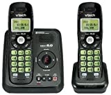Vtech Dect 6.0 2-Handset Cordless Phone System with Digital Answering Machine and Green