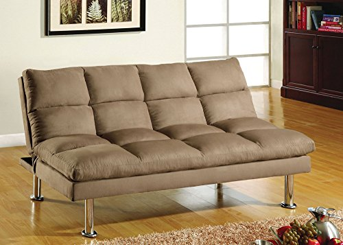 247SHOPATHOME IDF-2902BG Futons, Twin, Light Brown