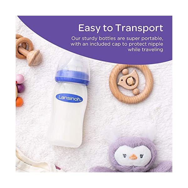 Lansinoh-Breastfeeding-Bottles-for-Baby