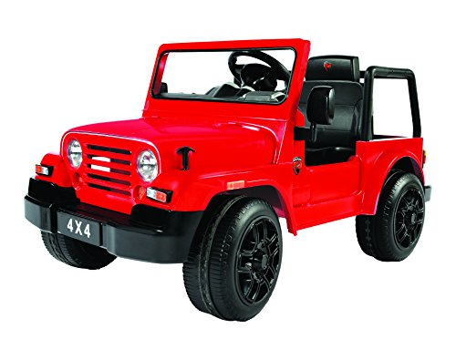 Rollplay 6 Volt 4x4 SUV Ride On Toy, Battery-Powered Kid's Ride On Car