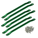 Swing-N-Slide WS 4564 Metal Monkey Bars with Six Metal Rungs, Green