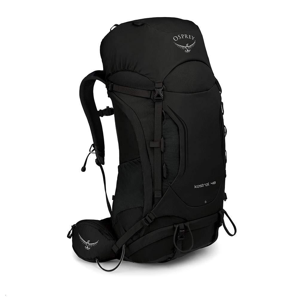 Black Small Medium Osprey Kestrel 48 Hiking Backpack
