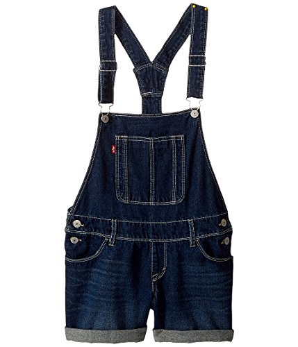 Levi's Big Girls' Denim Shortalls, Plymouth, 12 by Levi's
