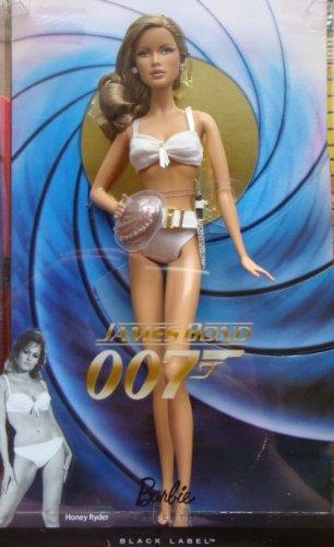 Barbie Collector Black Label James Bond 007 Dr. No Honey Ryder Doll