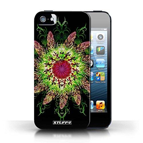 Kobalt® protector duro de nuevo caso / cubierta para el Apple iPhone 5/5S | Colector ideal 2 Diseño | Patrón de simetría colección