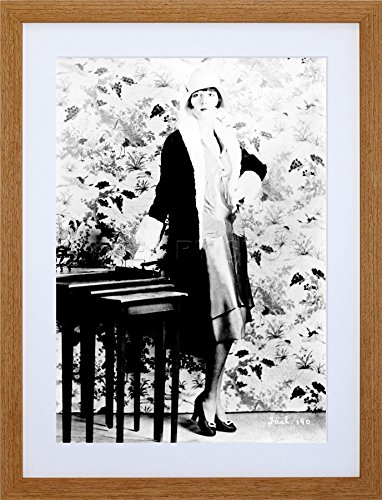 VINTAGE PHOTO PORTRAIT ACTRESS LOUISE BROOKS SILENT STAR ART PRINT F12X1781
