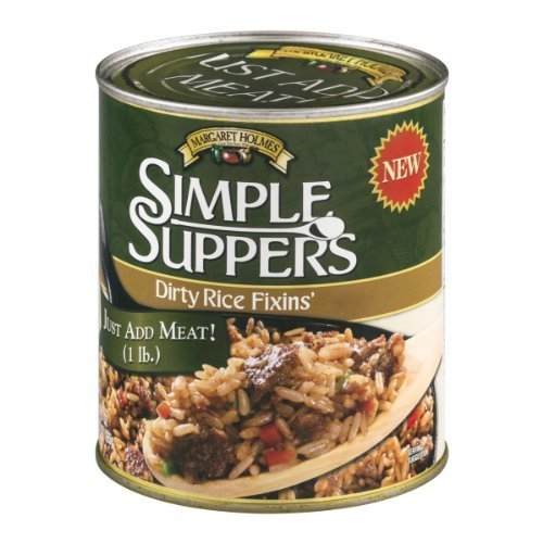Margaret Holmes Simple Suppers Dirty Rice Fixins' (Pack of 5 - 27 oz Cans)