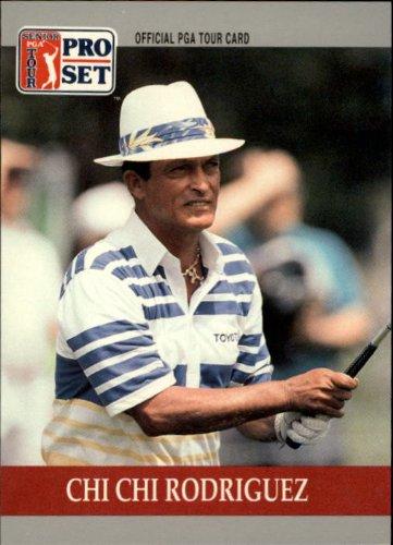 1990 Pro Set PGA Golf #86 Chi Chi Rodriguez RC (Pga Golf Card)