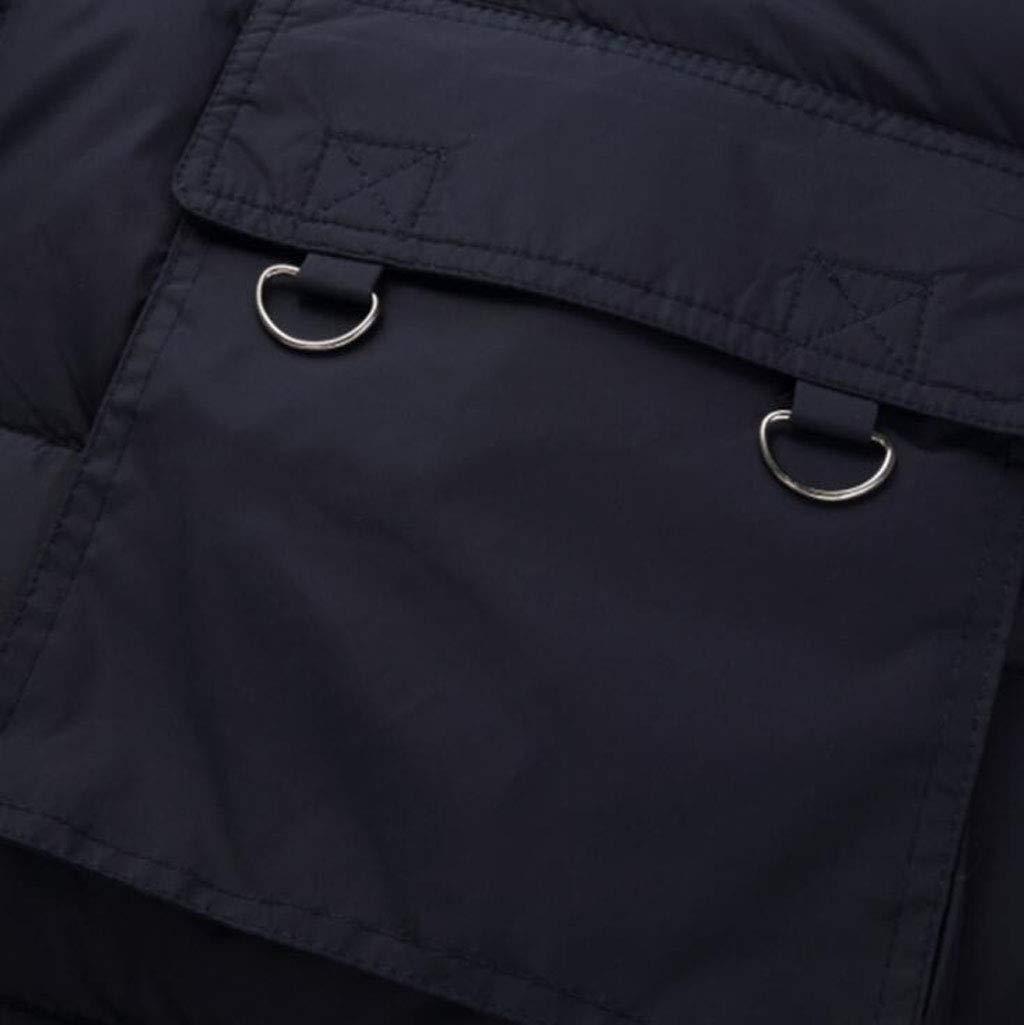 PFSYR Outdoor-Multi-Pocket-Weste, verdicken Warm Down Cotton Weste, Weste, Weste, stilvoll und praktisch Eigenschaft Dieser Weste (Farbe   Grün, größe   XL) B07HH35LG1 Jungen Attraktive Mode 4959d1