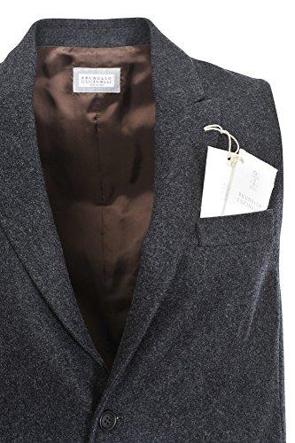 Brunello Cucinelli Anzugweste Herren Grau Nur Blazer Grau 50 Regular Fit