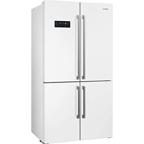 Smeg FQ60B2PE1 - Frigorífico (90 cm), color blanco: Amazon.es ...
