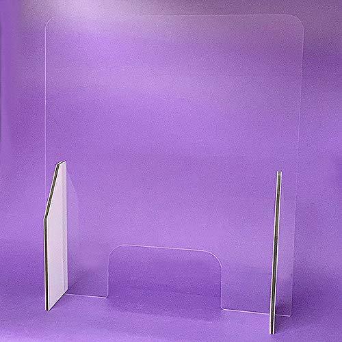 MAMPARA PROTECTORA Anticontagio de METACRILATO - MODELO L (L1: Ancho: 65 x Alto: 74,5 cm.): Amazon.es: Industria, empresas y ciencia