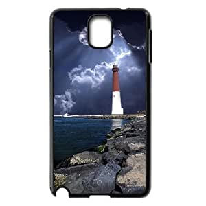 Case Of Lighthouse customized Bumper Plastic case For samsung galaxy note 3 N9000