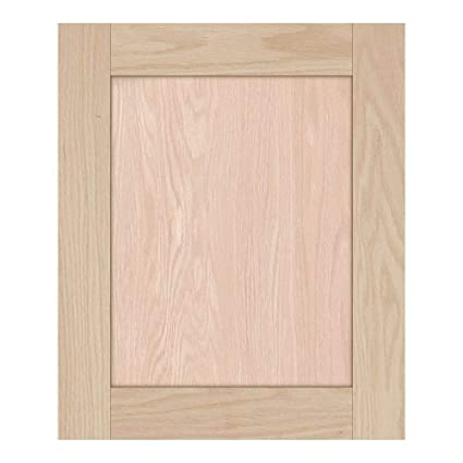 Unfinished Maple Shaker Cabinet Door by Kendor 24H x 15W