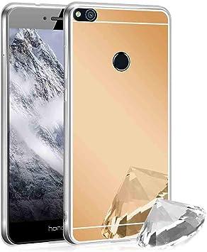 XCYYOO Funda Espejo para Huawei P8 Lite 2017, Protectora Movil ...