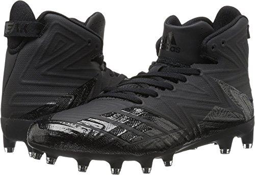 adidas Men's Freak X Carbon Mid Football Shoe, Black/Black/Black, 12 Medium US (Agile Track Mens)