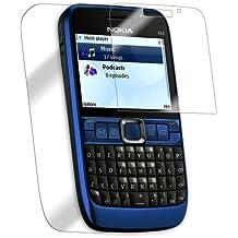Nokia E63 Screen Protector, IQ Shield LiQuidSkin Full Body Skin + Full Coverage Screen Protector for Nokia E63 HD Clear Anti-Bubble Film - with