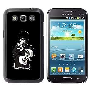 Design for Girls Plastic Cover Case FOR Samsung Galaxy Win I8550 Legendary Kung Fu Guy OBBA