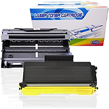 LD Compatible Brother TN580 Toner /& DR520 Drum Combo Pack 2 TN580 1 DR520