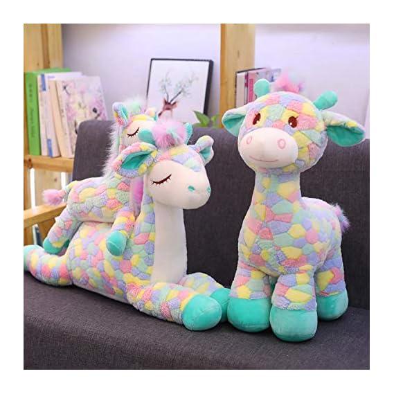 "DSR ""Lovely Sika Giraffe Soft Toy Stuffed Animal Soft Cute Doll Toys for Children Kids Best Quality Birthday Gifts (30CM"