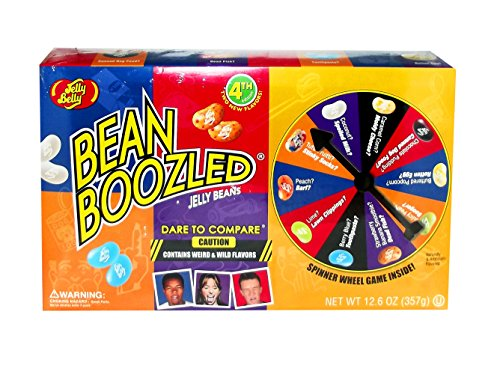 Jelly Belly Bean Boozled Jumbo Spinner 12.6 Ounces 4th Editi