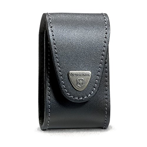 Victorinox VIC-33240 Swisschamp Xlt Pouch, Leather Black (Victorinox Swisschamp Swiss Army Knife)