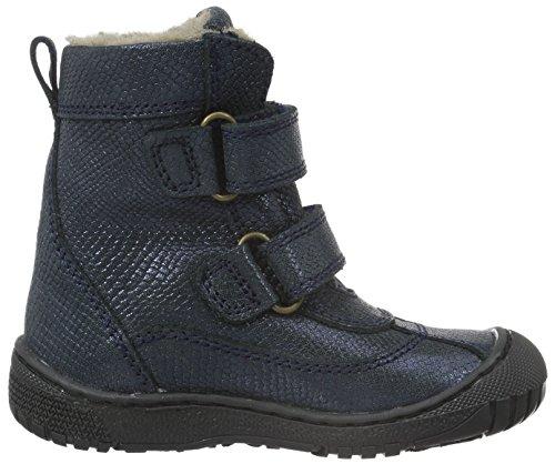 Bisgaard Tex Boot 61016216, Unisex-Kinder Schneestiefel Blau (609-1 Navy)