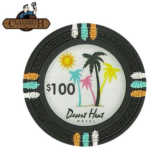 Claysmith Gaming 25 Clay Composite 13.5 gram Desert Heat Poker - Mall Palm In Desert