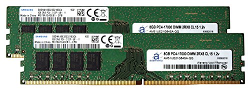 Samsung Original 16Gb  2X8gb  Desktop Memory Upgrade For Fujitsu Esprimo D956 M  International Energy Star Program  Ddr4 2133 Pc4 17000 Dimm 2Rx8 Cl15 1 2V Dram Adamanta