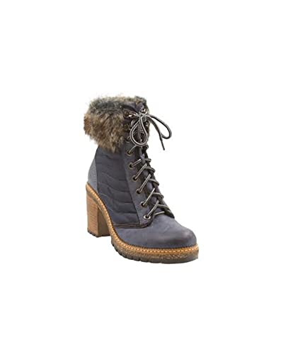 Women's Sadie Quilted Boot with Faux Fur Trim
