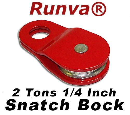 Runva 2 Ton 1/4' Snatch Block ATV UTV