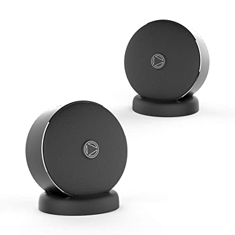 Bluetooth Speakers with Deep Bass,Twin Wireless with Stereo Sound,Dual  Portable wireless Speakers for iOS Android Smartphones,TF Card Slot IPX5  Water