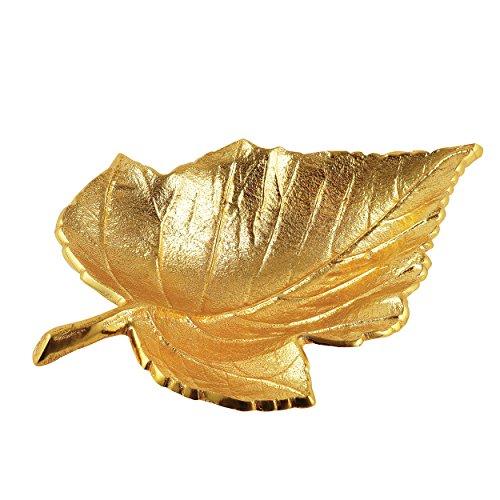 Elegance Gold Maple Leaf (Leaf Small Dish)