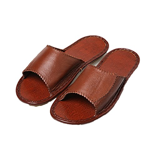 Men Brown Femme pour Chaussons TELLW qwAHBSx