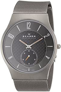 SKAGEN Titanium Case-Mesh Men's Watch
