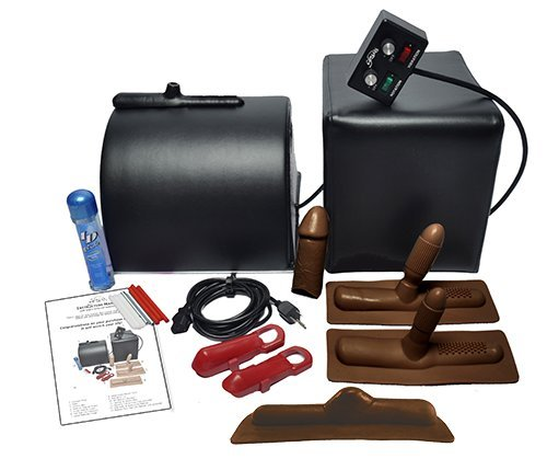 Sybian for Women - Sybian Package - Black with Chocolate Attachments, Best Real Dolls